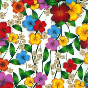 Kingtop 0.5m Width Flower Design Hydrographics Water Transfer Print Film Wdf-052-5 pictures & photos