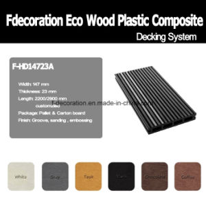 Phosphor Strip Wood Plastic Composite WPC Outdoor Decking