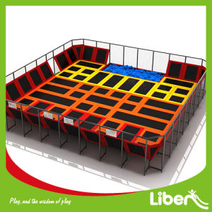 Rectangular High Quality Safe Indoor Trampoline for Toddler pictures & photos