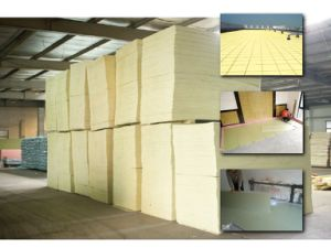 High Density Underfloor Heating Insulation Panel pictures & photos