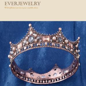 Full Rhinestone Jewelry Design Girls Tiara Crown pictures & photos