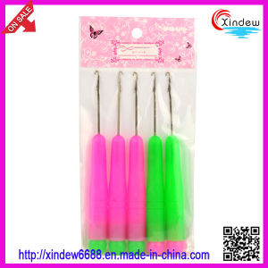 Plastic Handle Latch Hook Knitting Needle (XDKN-003) pictures & photos