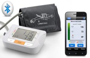 Bluetooth Portable Blood Pressure Monitor Meter Sphygmomanometer pictures & photos