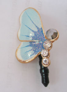 for iPhone5S Butterfly Anti-Dust Pin pictures & photos