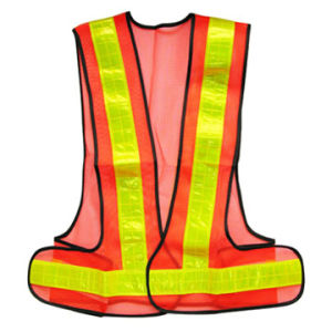 100% Polyester Reflective Vest Hs716 pictures & photos