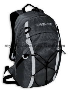 Fashion Grey 420d Ripstop Nylon Outdoor Backpack Bag pictures & photos