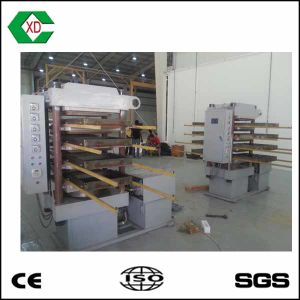 Rubber Brick Molding Machine/Rubber Tile Making Machine pictures & photos