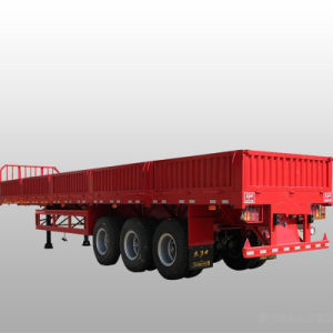 Certificate Approved 3 Axles Semi-Trailer Sidewall Trailer pictures & photos