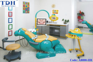 Dental Apparatus/ Ce Certified Secure and Qute Children Dental Chair (A8000-II) pictures & photos