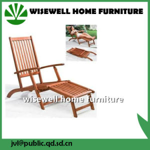 Eucalyptus Wood Folding Lounge Chair pictures & photos