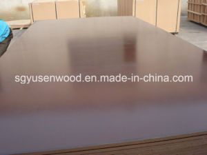 16mm Hardwood Core Film Faced Plywood Brown Film Faced Plywood pictures & photos