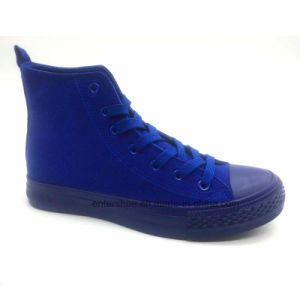 Low Cut Lace up Women Casual Sneakers (ET-YH160107W) pictures & photos