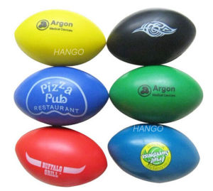Rugby Shape Stress Ball