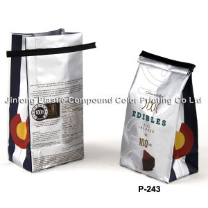 Quad Sealed Pet Food Bag with Tin-Tie pictures & photos