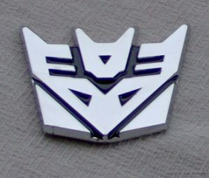 ABS Chrome Car Emblem/Badge/Sticker (LH2120)
