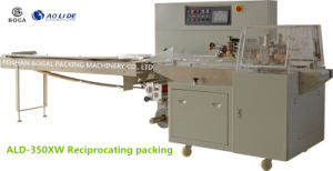 Best Seller Biscuits Horizontal Flow-Pack Packaging Machine Manufacturer Ald-350W pictures & photos