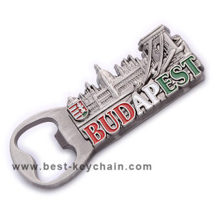 Custom Emboss Logo Souvenir Dudapest Metal Bottle Opener (BK53259) pictures & photos