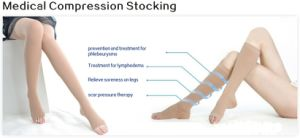Medical Compression Stocking/ Thigh High Stocking/Stocking