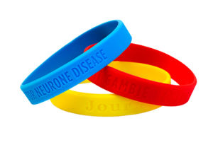 Fashion Custom Logo Debossed Silicone Wristband for Gift pictures & photos