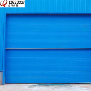 Safely Automatic Multi Sectional Industry High Quality Vertical Lifting Door pictures & photos
