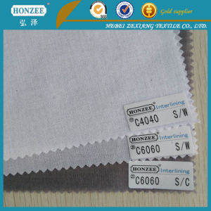 China Manufacturer Interfacing Polyester Fabric with High Quality pictures & photos