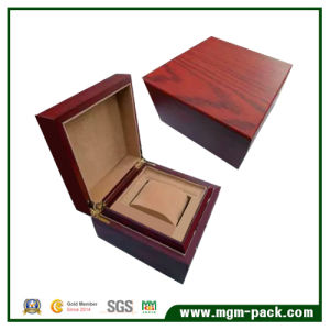 Lacquered Storage Wooden Watch Box with Pillow pictures & photos