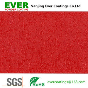 Red Crocodile Skin Effect Texture Powder Paint pictures & photos