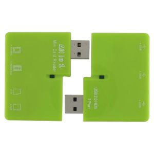 Detachable USB Combo for Card Reader and Hub Style No. Cr-215 pictures & photos
