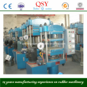 Four Column Rubber Vulcanizing Press, Rubber Curing Press Xlb 600X600 pictures & photos