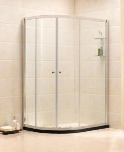 Sanitary Wares Tempered Glass Simple Shower Enclosure (B14) pictures & photos