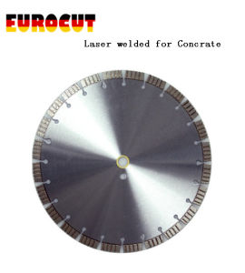 Laser Welded Diamond Saw Blade for Cutting Concrate