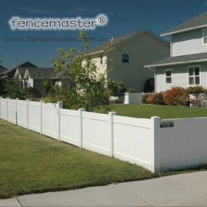 Fencemaster Top Quality Vinyl Fence pictures & photos