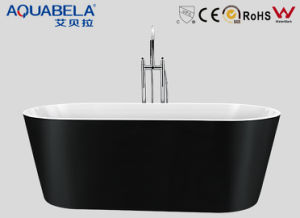Black Color Freestanding Jet Bathtubs (JL609) pictures & photos