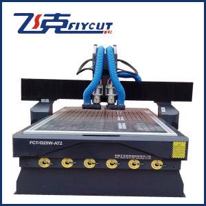 2 Auto Change Spindles CNC Woodworking Machine CNC Engraver pictures & photos