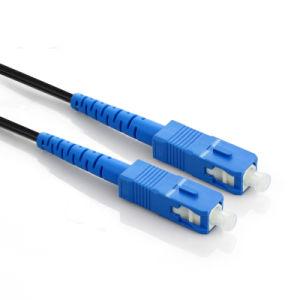 Single Sc-Sc FTTH Cable Fiber Patch Cord 25m-1000m Available pictures & photos