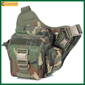 Waterproof Sport Military Camouflage Army Green Waist Bag (TP-WTB007) pictures & photos