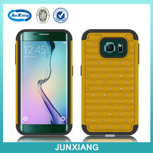 2015 New Style Diamond Cell Phone Case for Samsung S6 Edge pictures & photos