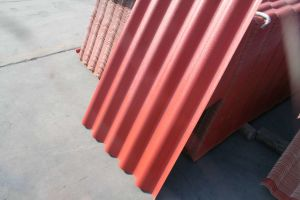 Hoggery Used UPVC Wave Style Roofing Sheet in China pictures & photos
