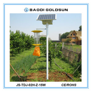 Outdoor Rechargeable Solar Insect Trap for Food Grad Factory pictures & photos