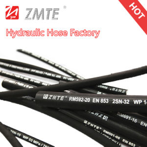 Braid High Pressure Flexible Hydraulic Rubber Hose pictures & photos
