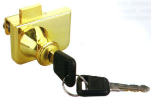 Double Opening Quality Glass Door Lock