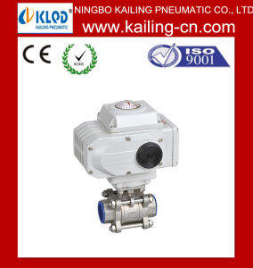 3 PCS Electric Stainless Sreel Ball Valve pictures & photos