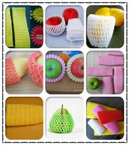 FDA Approved Fruit Protective Expandable Foam Mesh Sleeves pictures & photos