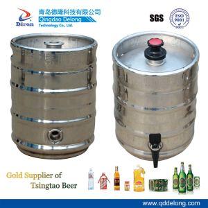 Stainless Steel Keg for Fresh Beer (10L)