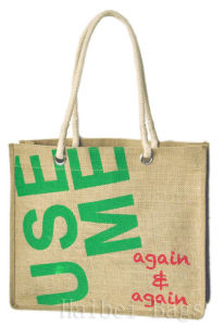 2013 New Jute Shopping Bag/Tote Bag/Sack Bag (hbjh-48) pictures & photos