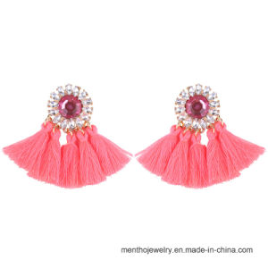 New Popular Imitation Jewelry Eight Colors Fashion Tassel Earrings pictures & photos