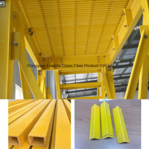Fire Retardant FRP Pultruded Profile, FRP Structural Shapes, FRP Channel pictures & photos