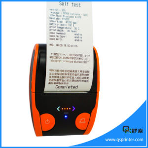 Portable Mini Bluetooth Printer Portable Android 58mm Thermal Printer pictures & photos