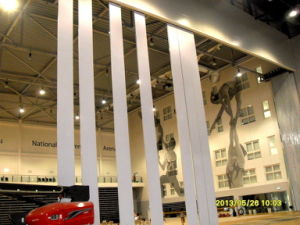 Super-High Acoustic Moveable Walls for Stadium/Sport Center/Gymnastic Arena pictures & photos
