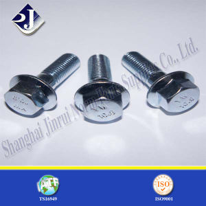 Zinc Plated Flange Bolt pictures & photos